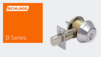 SCHLAGE B660 GRADE 1 TUBULAR DEADBOLTS