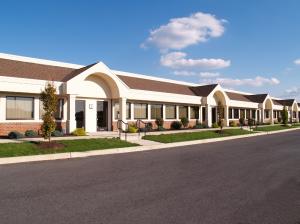 Commercial office buildings in Oak Brook, Illinois