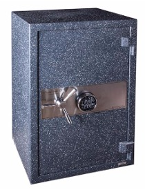 Residential lock safe at a house in Addison, Illinois