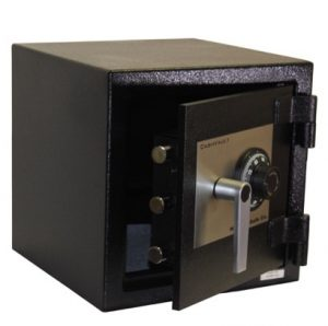 Lock safe at a house in Lemont, Illinois