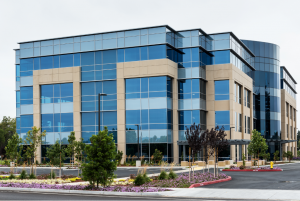 Commercial locksmith at an office building in Schaumburg, Illinois