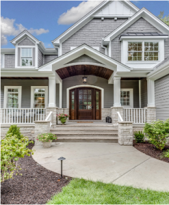 Residential locksmith at a house in Winfield, Illinois
